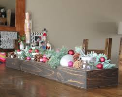 wood table centerpiece or window box 24 long