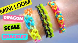 bracelet dragon rainbow images Dragon scale rainbow loom bracelet with mini loom jpg