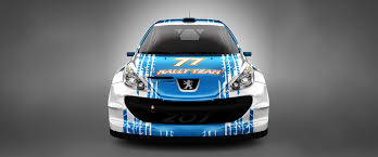 peugeot 207 rally livery design for 77 rally team abstraxi design for motorsport