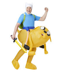 adventure time finn inflatable costume u2013 spirit halloween