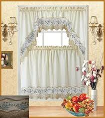Fancy Kitchen Curtains by Heather Curtains Are A Beautiful Ivory Sheer Delicately