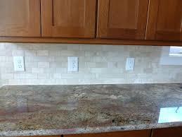 Wallpaper That Looks Like Tile Backsplash Kitchen Cheap Tile