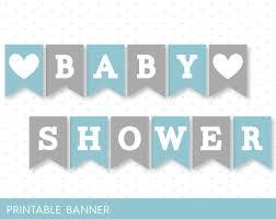 baby shower banner blue banner grey banner oh baby banner oh boy banner printable
