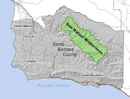 Carpinteria State Beach Campground Map by San Rafael Wilderness Wikipedia