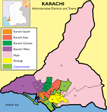 Paper Towns On Maps Karachi Division Wikipedia