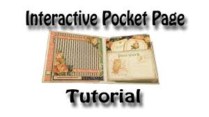 photo pages for albums interactive pocket page tutorial used for my eerie tale