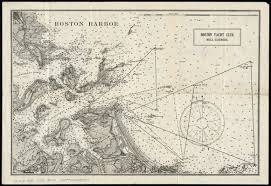 Map Of Boston Harbor by Boston Harbor Norman B Leventhal Map Center