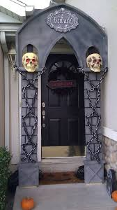 Halloween Patio Decorating Ideas 35 Awesome Halloween Front Door Ideas Home Design And Interior 10