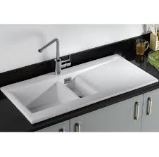 kitchen fabulous cream ceramic kitchen sink stainless steel
