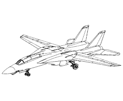 fighter aircraft drawings amd coloring sheets 14 tomcat
