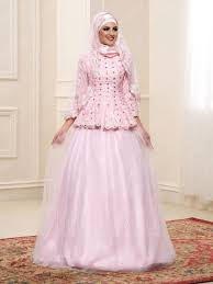 wedding dress muslim comely lace beading sleeves high neck a line muslim wedding