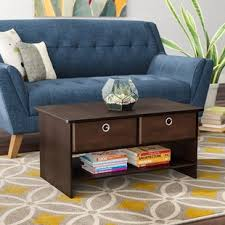 Living Room Table With Drawers Coffee Tables With Drawers Wayfair