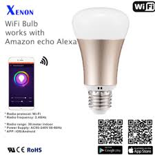 smart light bulbs amazon work with amazon echo xenon wi fi smart led light bulb electronics