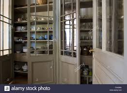 large kitchen storage cupboards large glass panelled kitchen storage cupboards with shelving