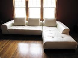 White Leather Sleeper Sofa Furniture Amazing L Shaped Sleeper Sofa Designs Custom Decor