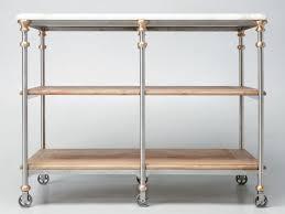 designer stainless steel u0026 bronze kitchen island for sale old plank