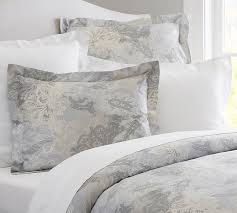 Pottery Barn Willow Coffee Table Willow Paisley Sateen Duvet Cover U0026 Sham Pottery Barn
