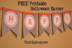Free Halloween Printables Pinterest Halloween Banners From Pinterest U2013 Fun For Halloween
