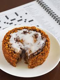 pumpkin cinnamon roll baked oatmeal the breakfast drama queen