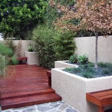 Backyard Planter Designs by Use Pavers To Outline Raised Beds Looks Really Classy