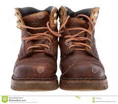 old work boots stock image image of unattached footwear 17533725