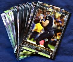 2015 topps new orleans saints nfl football card team set