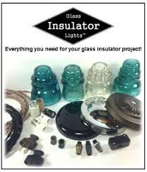 glass insulator light kit glass insulator light supplies diy glass insulator lights