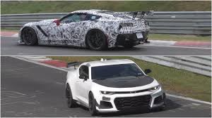 camaro zl1 vs corvette 2018 corvette zr1 vs 2018 camaro zl1 1le sound comparison