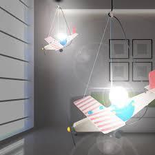hängele kinderzimmer light propeller flugzeug hänge leuchte blau pendel le