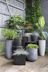 modern outdoor planters to add style best potential images on