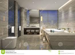 Modern Classic Bathroom by 3d Rendering Modern Classic Bathroom With Luxury Tile Decor With