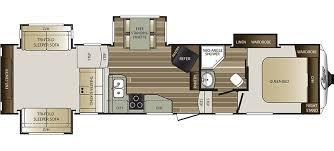 Bunkhouse Trailer Floor Plans Cougar