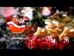Flying Reindeer Christmas Decorations by Santa In Sleigh With Flying Reindeer U0026 Snowman Video Youtube