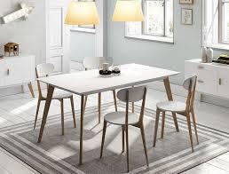 Modern White Dining Room Modern White Tv Unit With Oak Legs And Handles Design Of White