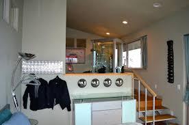 split level bedroom bedroom level of split level room bathroom and shower are on the