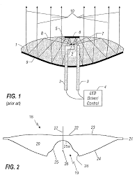 patent us20040070855 compact folded optics illumination lens