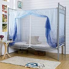 Blue Nursery Curtains Amazon Com Fabal Students Dormitory Bunk Beds Nets Spread