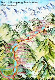 Muni Route Map by Huanglong National Scenic Reserve Sichuan