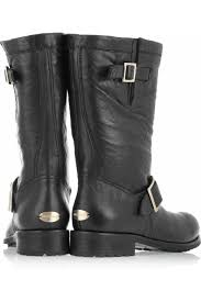 buckle biker boots jimmy choo leather biker boots my color fashion