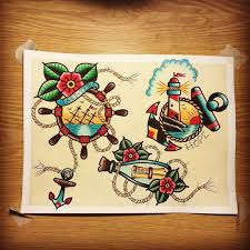 another painting traditional traditionalflash traditionaltattoo