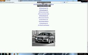 audi a4 b8 service manual repair youtube