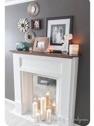 Ways To Decorate A Fireplace Mantel by Best 20 Decorative Fireplace Ideas On Pinterest Romantic Master