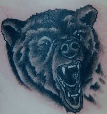 trend tattoos bear head tattoos pics