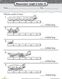 measure inches at the zoo worksheets the zoo and zoos