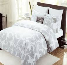 lovely grey and white duvet cover queen 33 on duvet covers king