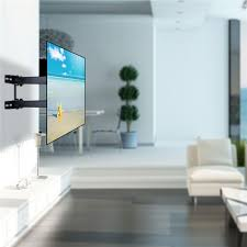 tv wall mount swing out tv wall mounting bracket with full motion swing out tilt lcd