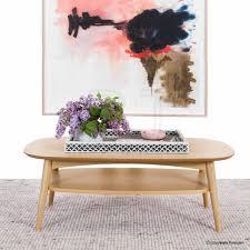 modern designer coffee tables buy vaasa olivia modern designer inspired coffee table with shelf