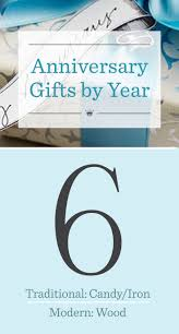 sixth wedding anniversary gift best 25 6th anniversary gifts ideas on 6th