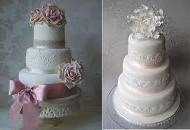 wedding cake lace lace wedding cakes part 4 lace trim cake magazine