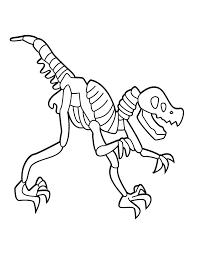 printable 18 dinosaur bones coloring pages 4994 dinosaur